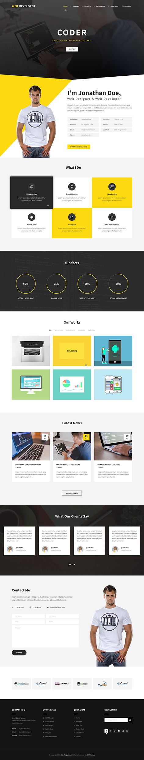programmer WordPress theme