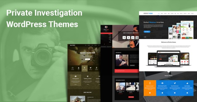 Private Investigation WordPress Themes