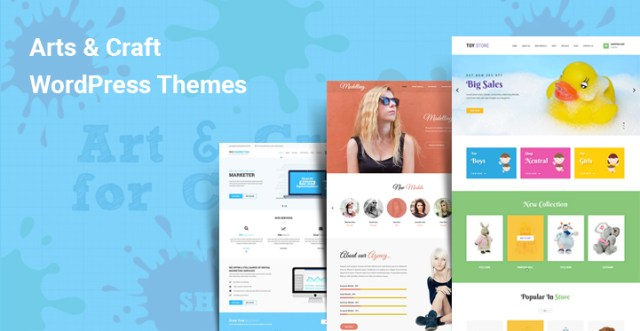 Arts Craft WordPress Themes