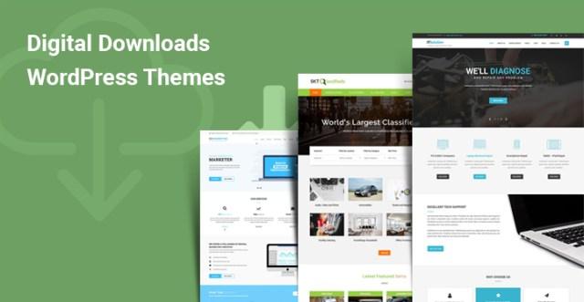 Digital Downloads WordPress Themes
