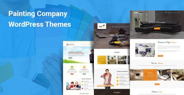 Painting Company WordPress Themes
