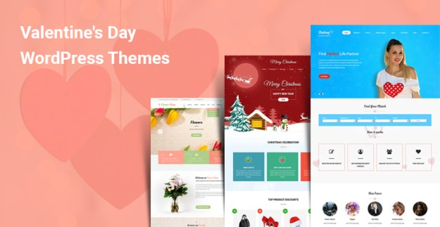 Valentine Day WordPress Themes