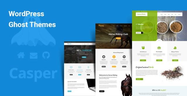 WordPress Ghost Themes