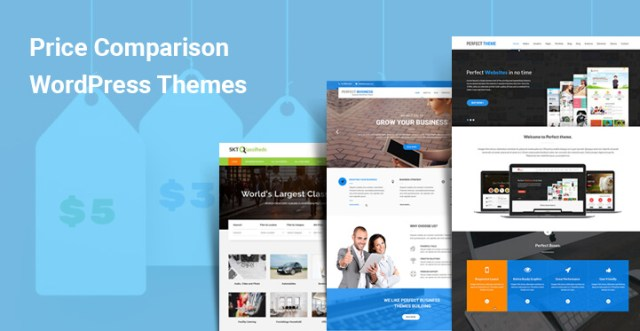 Price Comparison WordPress Themes