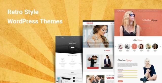 Retro Style WordPress Themes