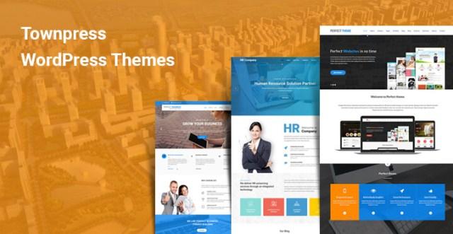 townpress wordPress themes