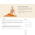 free spa WordPress theme