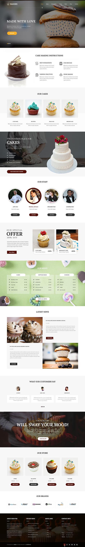 cakery WordPress theme