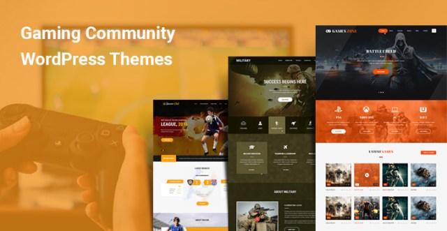 Gaming Community WordPress Themes