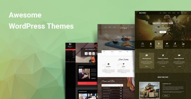 Awesome WordPress themes