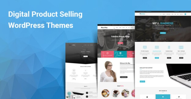 Digital Product Selling WordPress themes