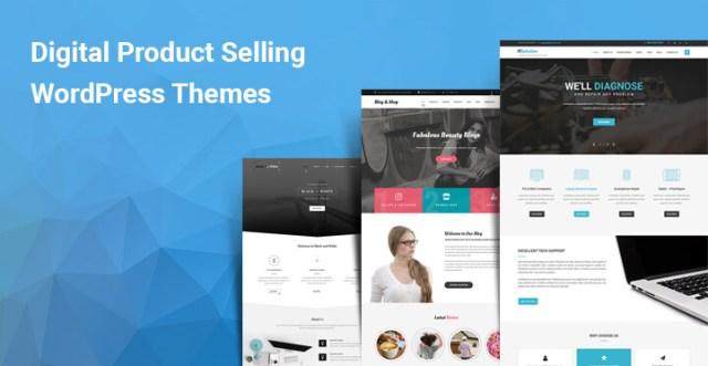 Digital Product Selling WordPress themes