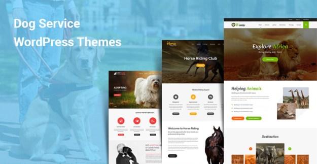 Dog Service WordPress theme