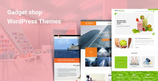 Gadget shop WordPress themes
