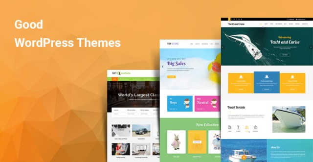 Good WordPress themes