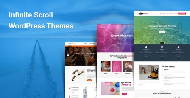 Infinite Scroll WordPress themes