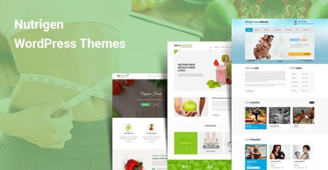 Nutrigen WordPress themes