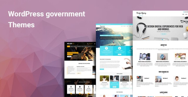 The WordPress Government themes