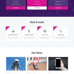 telecom WordPress theme