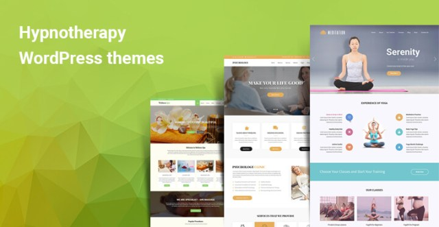 Hypnotherapy WordPress theme