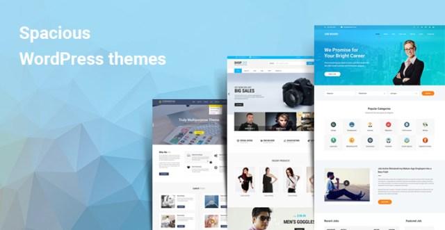 Spacious WordPress themes