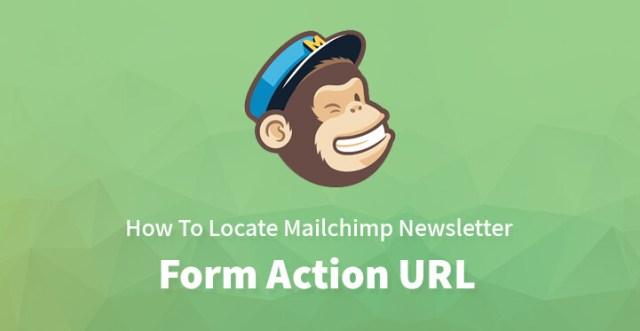 Mailchimp Newsletter Form Action URL