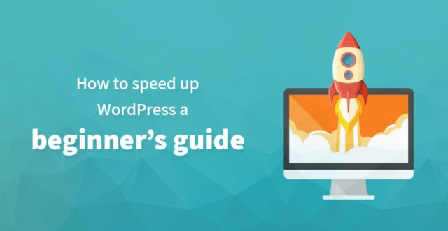 How to speed up WordPress a beginners guide
