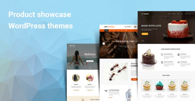 Product showcase WordPress themes