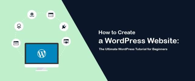 create a decent WordPress website