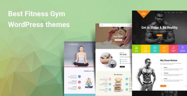 Fitness Gym WordPress Themes