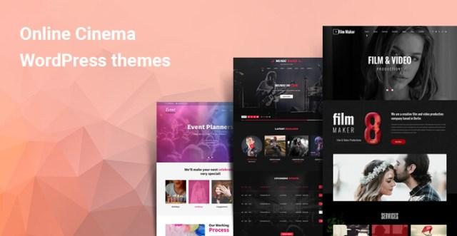 Best Online Cinema WordPress Themes for Film Related Websites