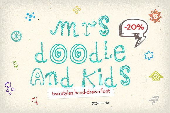 Mrs. Doodle Fonts