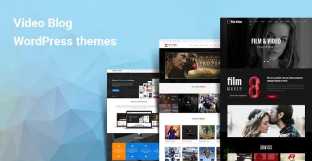 video blog WordPress theme