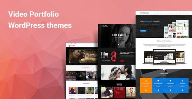 video portfolio WordPress theme