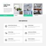 kitchen design WordPress theme