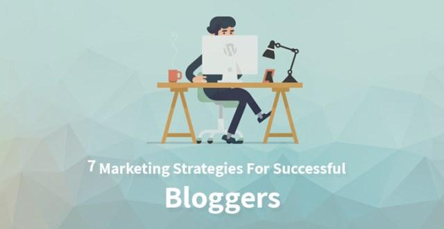 Marketing strategies Blogger