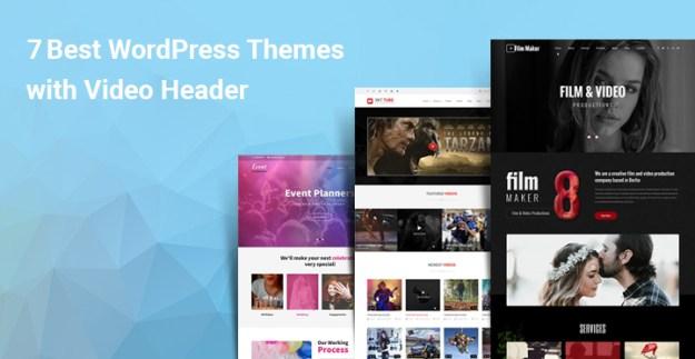 WordPress themes video header