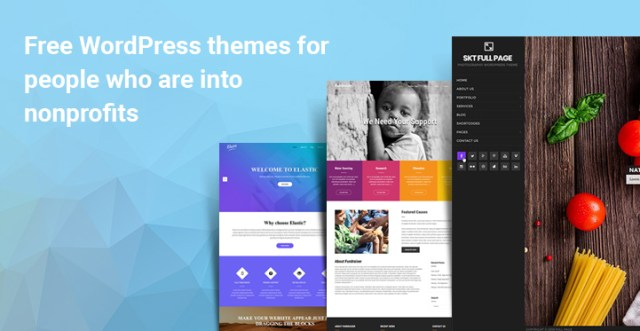 Free themes NonProfits