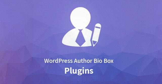 WordPress Author Bio Box Plugins