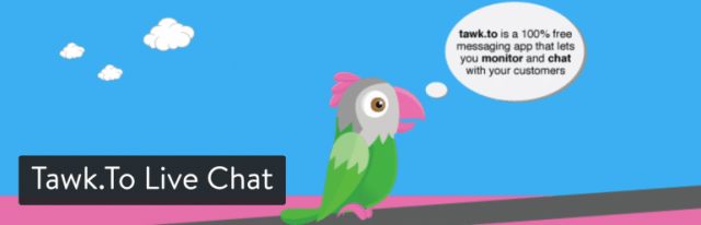 tawk.to live chat wordpress plugin
