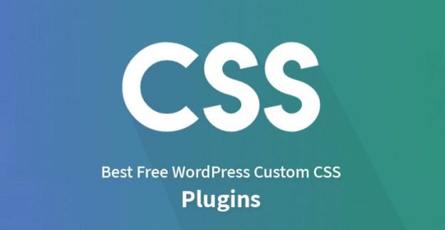 Best Free WordPress Custom CSS Plugins