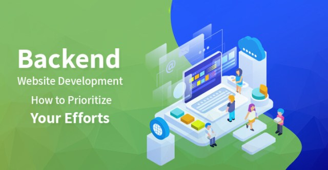 backend website development