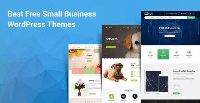 best free small business WordPress themes