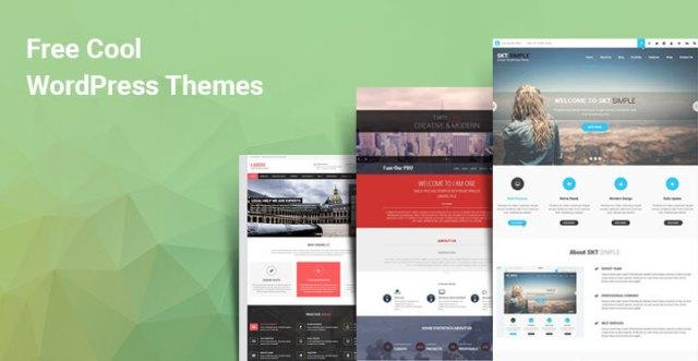 cool free WordPress themes