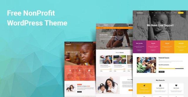 free WordPress themes for nonprofits