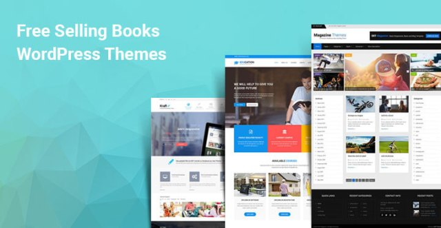 free selling books WordPress themes
