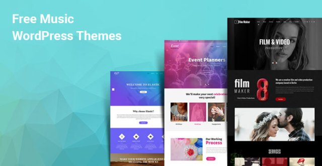 free WordPress music themes