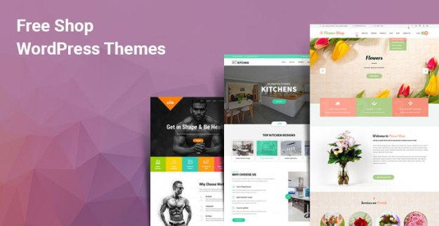 free WordPress shop themes