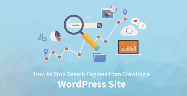 stop crawling WordPress website