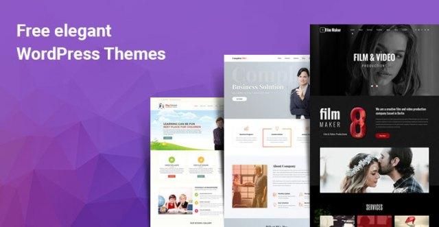 free elegant WordPress themes